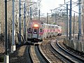Providence Line train approaching Canton Junction, April 2016.JPG