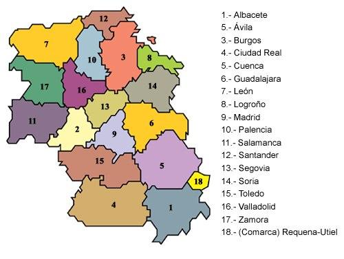 Provincias-castellanas