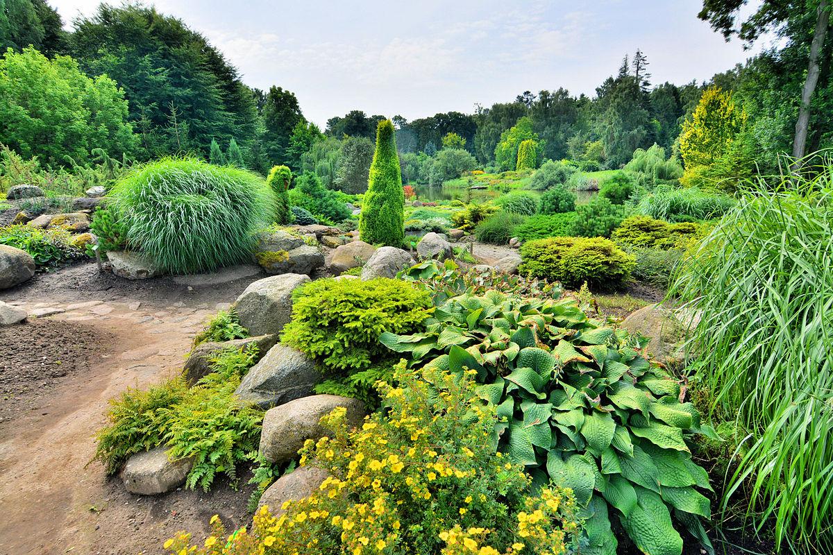Dendrological garden in przelewice wikipedia for Gardening tools wikipedia