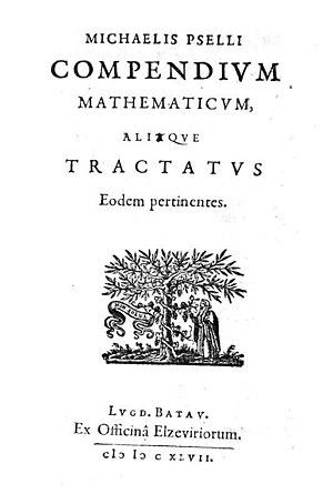 Michael Psellos - Compendium mathematicum, 1647