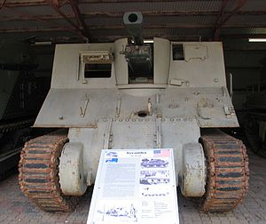 Yeramba - A Yeramba on display at the Royal Australian Armoured Corps Tank Museum