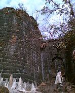 Purandar fort bastion