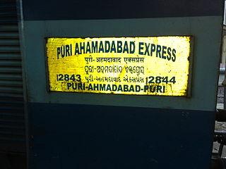 Puri–Ahmedabad Express