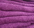 Purple towels saying something.JPG