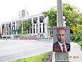 Putin khuilo! poster in front of the Russian Embassy in Ottawa, Canada.jpg
