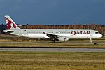 Qatar Airways, A7-ADS, Airbus A321-231 (31381331596) (2).jpg