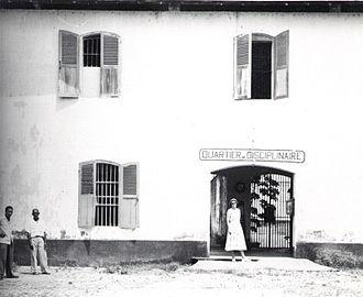 """Saint-Laurent-du-Maroni - """"Quartier - Disciplinaire"""", St. Laurent. 1954"""