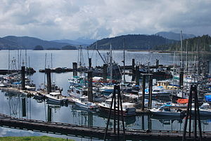 Queen Charlotte, British Columbia - City Harbour
