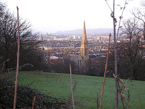 Queens Park, Glasgow looking North West.JPG