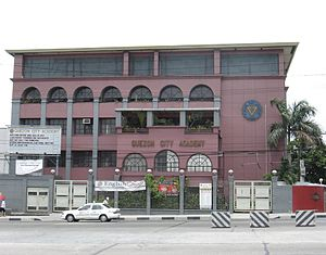 Quezon City Academy - Quezon City Academy's campus