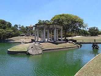 Quinta da Boa Vista - Temple and Pagoda