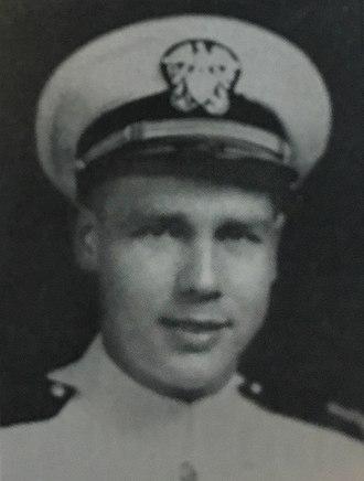 Robert W. Allard - R.W. Allard as U.S. Navy Ensign, 1944