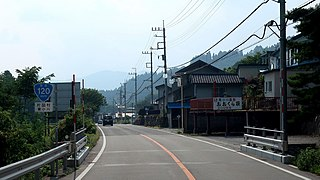 Japan National Route 120