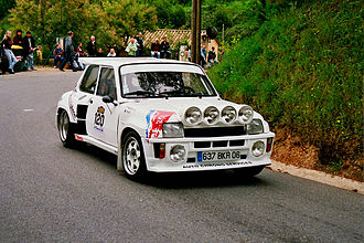 Renault 5 - Renault 5 Turbo