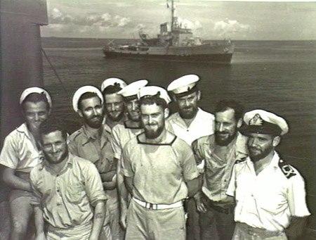 RAN Sailors (AWM P00001-418)