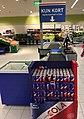 REMA 1000 Supermarket interior grocery store Tønsberg, Norway 2017-11-03 cashier checkout Red Bull Simply Cola d.jpg