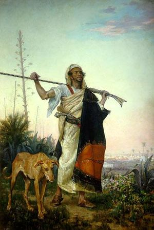 Ricardo de Madrazo - A Moor from the South (1881)