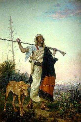 Ricardo de Madrazo - A Moor from the South (1881)