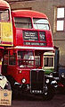 RT bus, Routemaster Heritage Trust open day, Twickenham bus garage, 1993.jpg