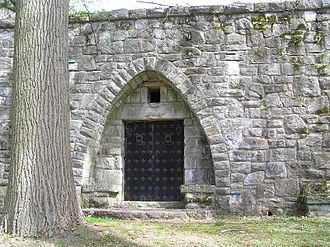 Stephen Samuel Wise - The mausoleum of Rabbi Steven Wise in Westchester Hills Cemetery