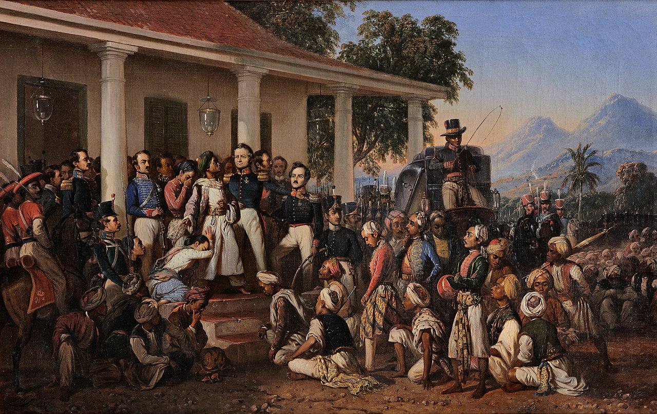 Berkas:Raden Saleh - Diponegoro arrest.jpg - Wikipedia bahasa Indonesia, ensiklopedia bebas