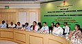 Radha Mohan Singh briefing the media on the meeting of Ministers of Agri-marketing of StatesUTs on reforms in Agriculture Sector to enhance farmers' income, in New Delhi (1).jpg