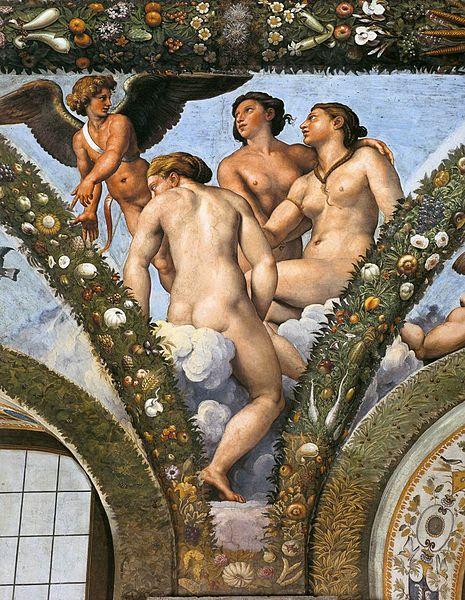 File:Raffael, Loggia di Psiche, Villa Farnesina, Rome 09.jpg
