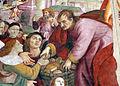 Raffaellino del garbo, moltiplicazione dei pani e dei pesci, da s.m. maddalena de' pazzi 05.JPG