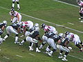 Raiders on offense at Atlanta at Oakland 11-2-08 14.JPG