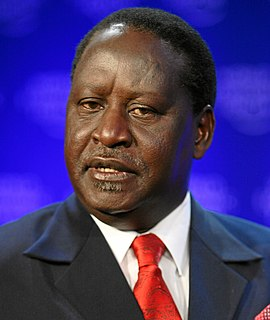 Raila Odinga Prime Minister of Kenya 2008–2013
