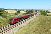 Railjet bei Guntramsdorf