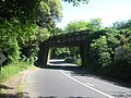 Railway bridge over A225 Station Road - geograph.org.uk - 1331282.jpg