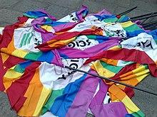 Bandiere di Arcigay