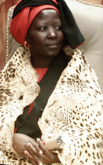 Lobedu people - Queen Makobo Modjadji VI