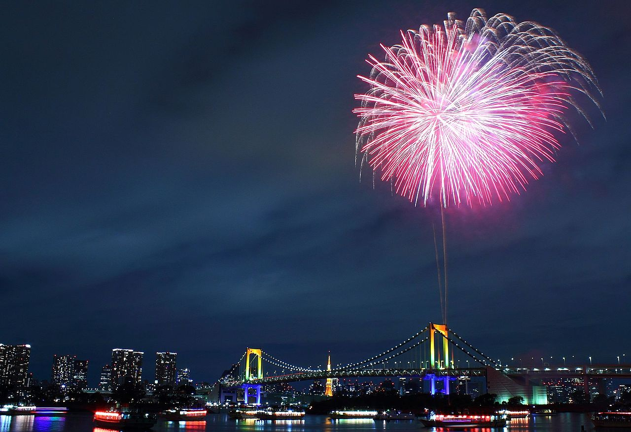 Resultado de imagen para tokyo fireworks
