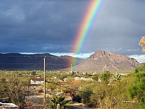 Rainbow over Drexel Heights, AZ, USA.jpg