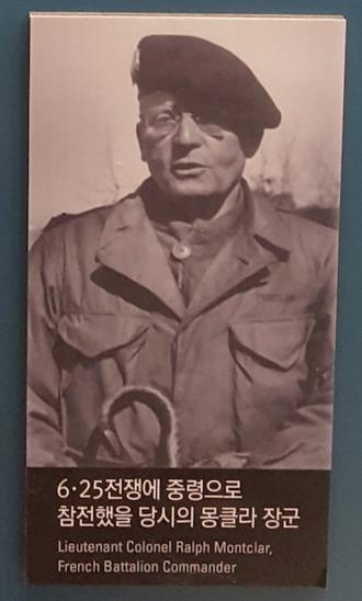 Raoul Magrin-Vernerey - Ralph Monclar during the Korean War