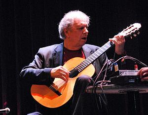2010 in jazz - Ralph Towner with Paolo Fresu, Treibhaus Innsbruck 2010.