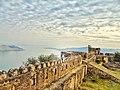 Ramkot Fort, Mangla Lake.jpg