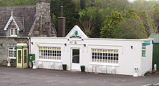 Castlefreke Village in Munster, Ireland