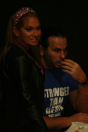 Reby Sky - Sky with her husband Matt Hardy.