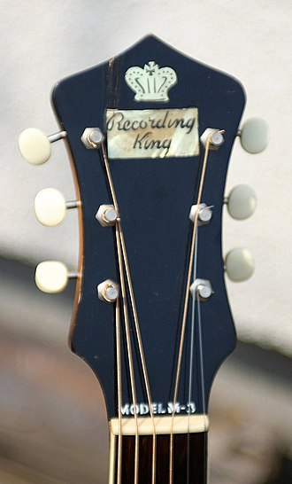 Recording King - Recording King logo (1940)