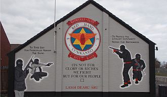 Red Hand Commando - RHC Mural, Rathcoole