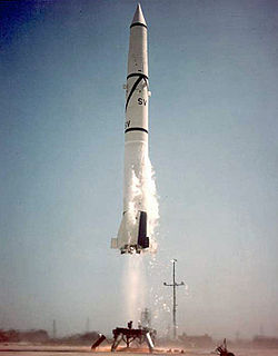 Start einer Redstone-Rakete von Launch Complex 6 am 17. September 1958