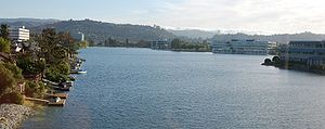 Redwood Shores, California with Belmont, Calif...