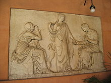 Pietro Tenerani: Monumento a Clelia Severini (1825), San Lorenzo in Lucina, Roma