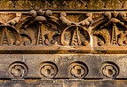 Relief on a facade of Langside College, Glasgow, Scotland 02.jpg