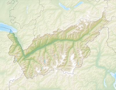 ModuleLocation MapdataCanton Of Valais Wikipedia - Blank us state map 1000 pixels width