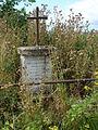 Remaucourt (Ardennes) Croix de chemin.JPG