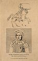 Renée Bordereau, a female soldier. Line engraving by S. Spri Wellcome V0006999.jpg